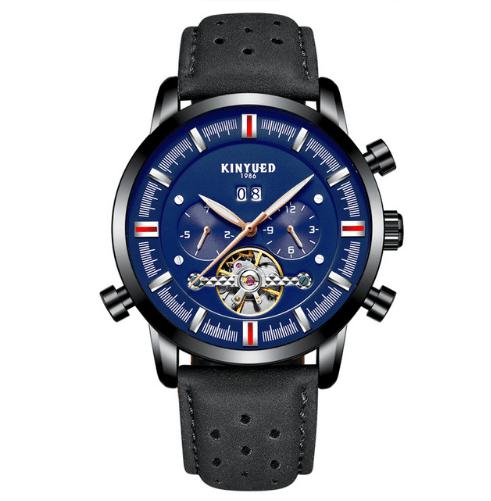 682cd155a80 Relógio masculino de pulseira de couro