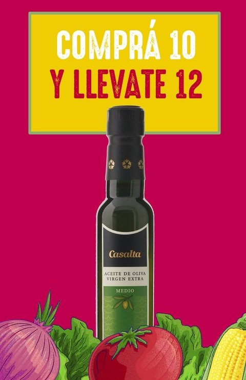 Promo 12x10 - Aceite de Oliva Medio 250 ml PET