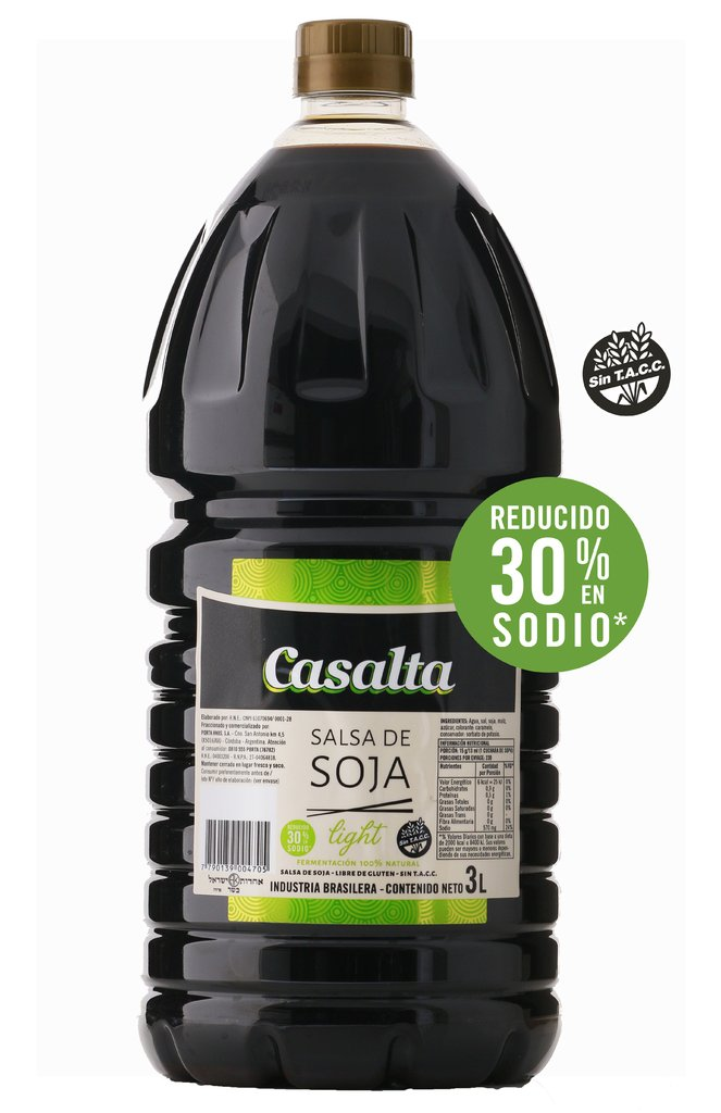 Salsa de Soja Light 3 l.