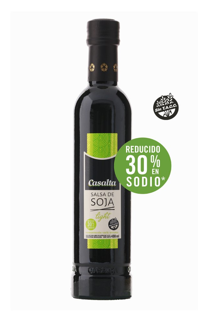 Salsa de Soja Light 400 ml.