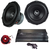 "Combo Subwoofers 15"" TXX BD2 Audiopipe + Potencia 1800.1 + Cables"