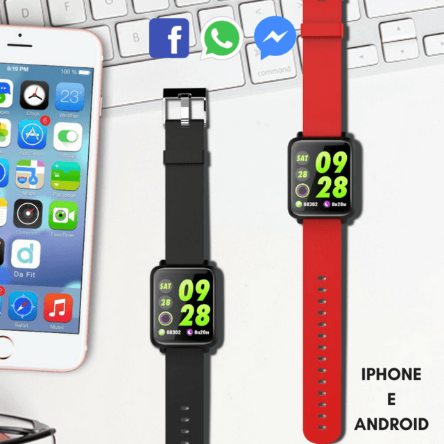 Kit: Smartwatch CF 007 Colors + Smartwatch F4S Color - Trend Boys
