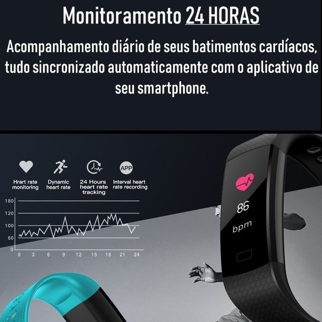Kit: Smartwatch CF 007 Colors + Smartwatch F4S Color na internet