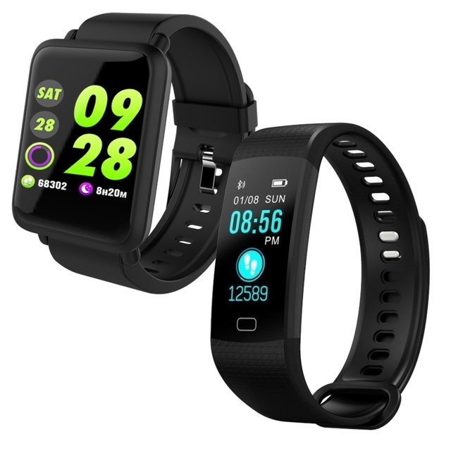 Kit: Smartwatch CF 007 Colors + Smartwatch F4S Color