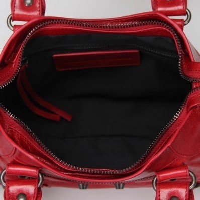 Bolsa Balenciaga Classic Mini City Red na internet