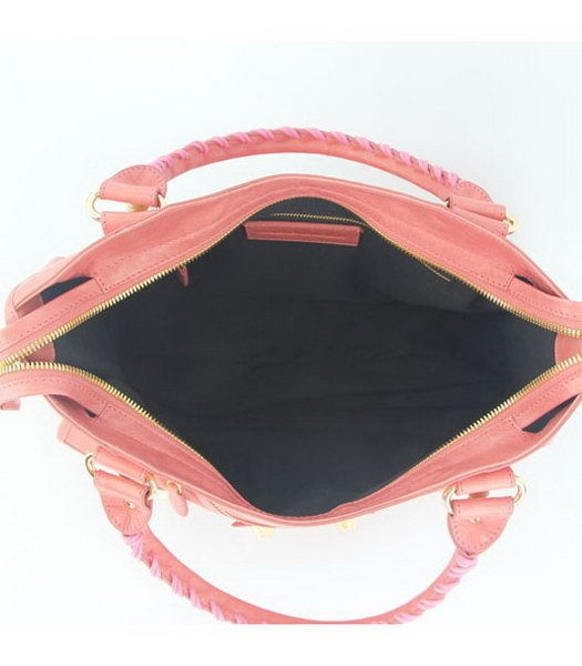 Bolsa Balenciaga Classic City Peach/Gold na internet