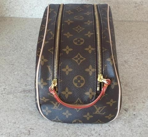 Necessaire Frasqueira Louis Vuitton Canvas Monogram na internet