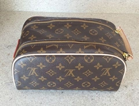 Necessaire Frasqueira Louis Vuitton Canvas Monogram