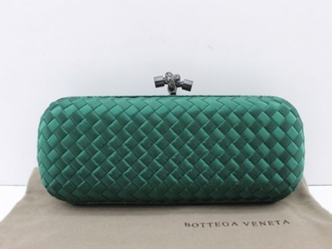Bolsa Bottega Veneta Clutch Green