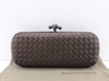Bolsa Bottega Veneta Clutch Coffee