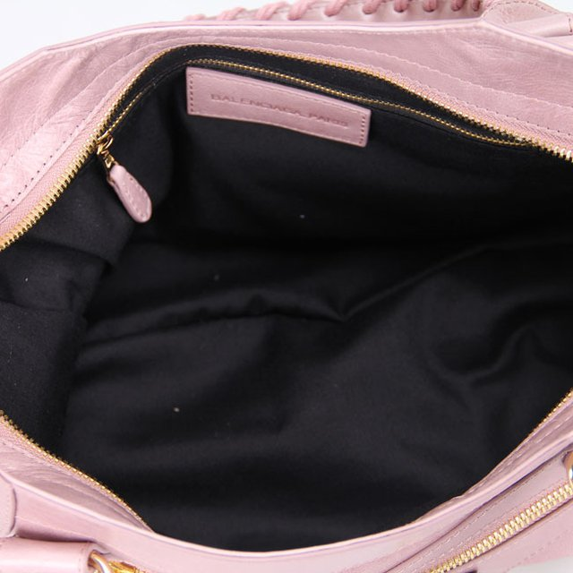 Bolsa Balenciaga Classic City Lake Pink/Gold na internet