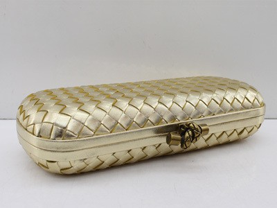 Bolsa Bottega Veneta Clutch New Gold na internet