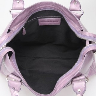 Bolsa Balenciaga Classic City Lake Purple/Silver na internet