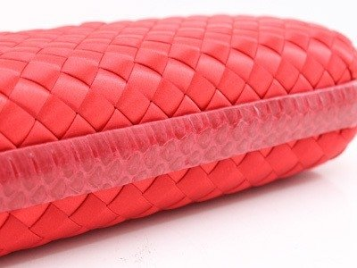 Bolsa Bottega Veneta Clutch Rose Red - comprar online