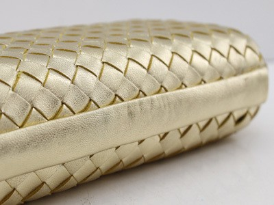 Bolsa Bottega Veneta Clutch New Gold - comprar online
