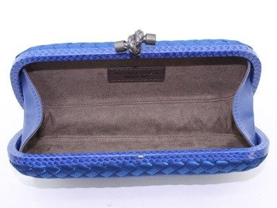 Bolsa Bottega Veneta Clutch Royal Blue na internet