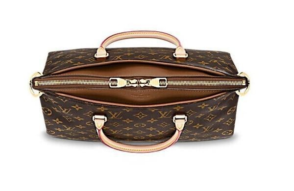 Bolsa Louis Vuitton Monogram Canvas Pallas Caramelo - comprar online