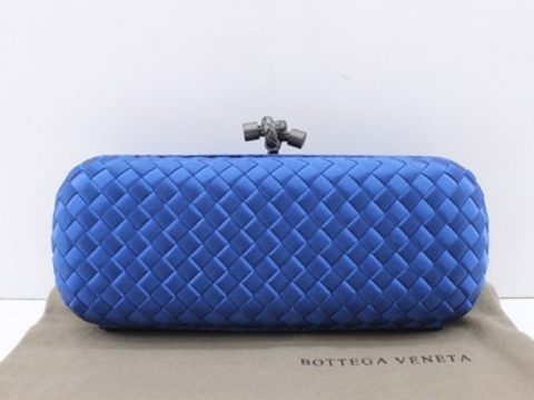 Bolsa Bottega Veneta Clutch Royal Blue