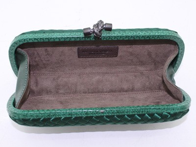 Bolsa Bottega Veneta Clutch Green na internet