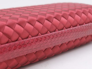 Bolsa Bottega Veneta Clutch Red 02 na internet