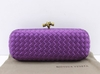 Bolsa Bottega Veneta Clutch Purple