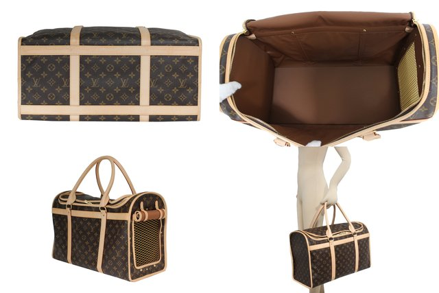 Mala Louis Vuitton Bag Dog Carrier 50cm - comprar online