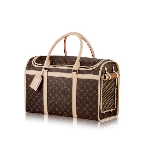 Mala Louis Vuitton Bag Dog Carrier 50cm