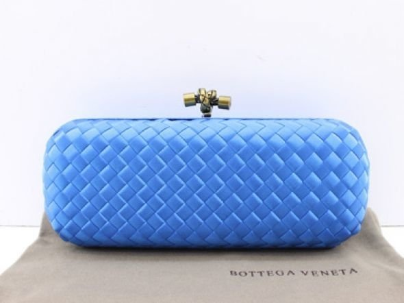 Bolsa Bottega Veneta Clutch Blue