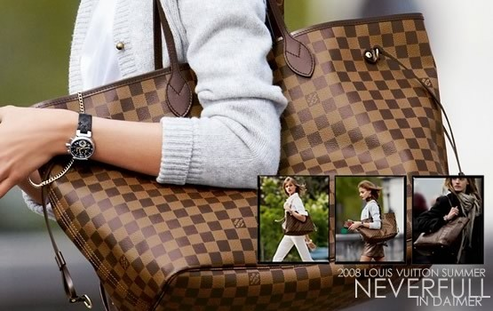 Imagem do Bolsa Louis Vuitton Neverfull Damier Ebene GM