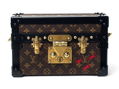 Bolsa Louis Vuitton Petite Malle Clutch - Italiana