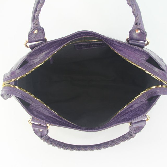 Imagem do Bolsa Balenciaga Classic City Purple/Gold