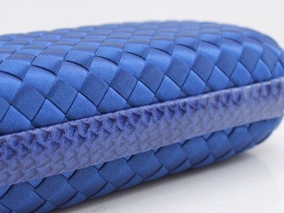 Bolsa Bottega Veneta Clutch Royal Blue - loja online