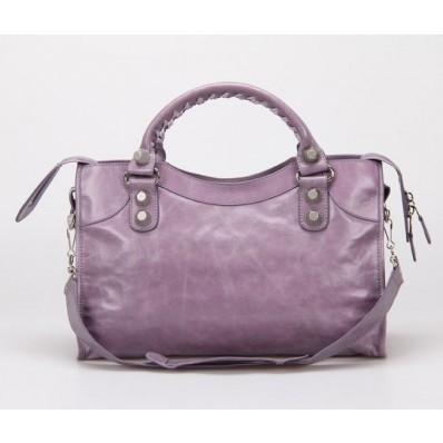 Imagem do Bolsa Balenciaga Classic City Lake Purple/Silver