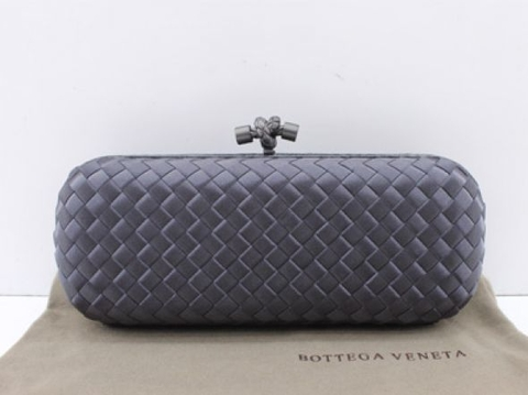 Bolsa Bottega Veneta Clutch Grey