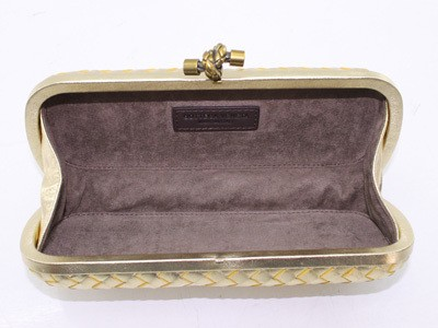 Bolsa Bottega Veneta Clutch New Gold - loja online
