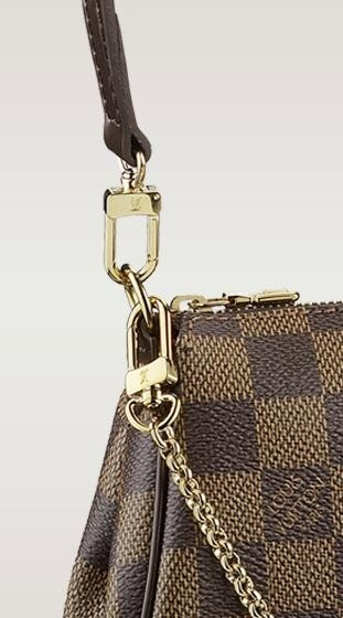 Imagem do Bolsa Louis Vuitton Eva Clutch Damier Ebene