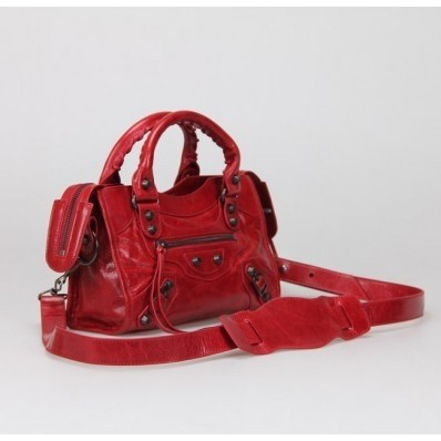 Imagem do Bolsa Balenciaga Classic Mini City Red