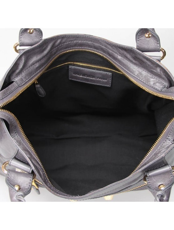 Imagem do Bolsa Balenciaga Classic City Lake Grey/Gold