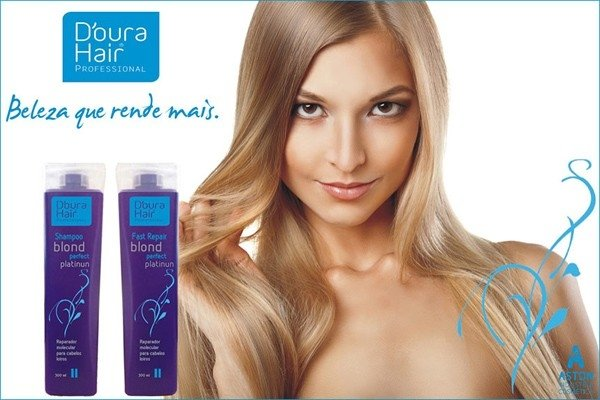 Kit Blond Perfect Platinum D'oura Hair - Cabelos Loiros