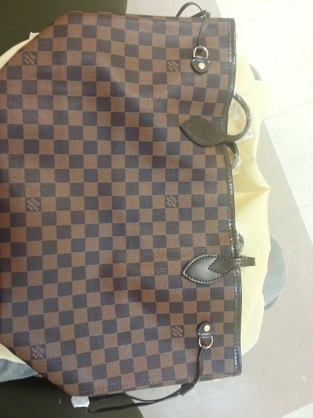 Imagem do Bolsa Louis Vuitton Neverfull Damier Ebene MM
