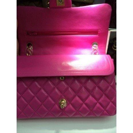 19c338e05 Réplica de Bolsa Chanel 2.55 Classic Flap Pink