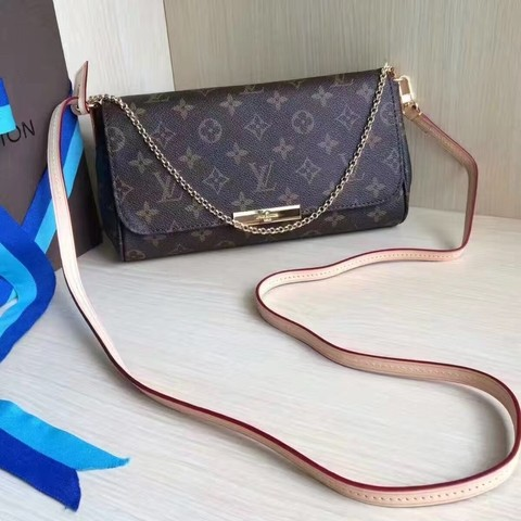 Bolsa Louis Vuitton Monogram Canvas Favorite MM