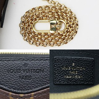 Clutch Louis Vuitton Pallas Monogram Canvas Black na internet