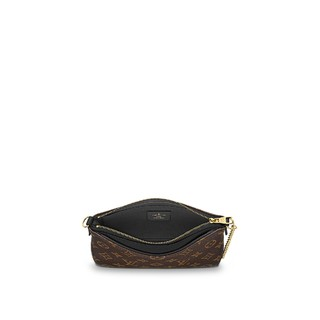 Clutch Louis Vuitton Pallas Monogram Canvas Black - Réplicas de Bolsas Famosas