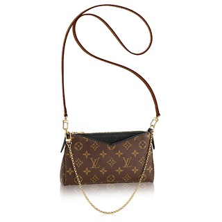 Clutch Louis Vuitton Pallas Monogram Canvas Black - comprar online