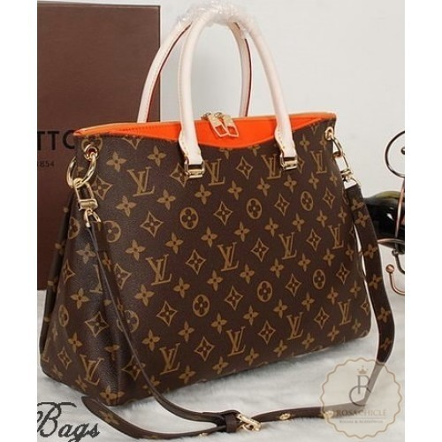 Bolsa Louis Vuitton Monogram Canvas Pallas Laranja - comprar online