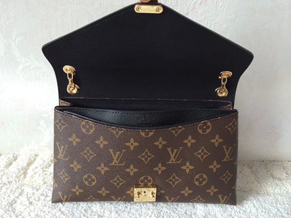 Bolsa Louis Vuitton Pallas Chain Aurore - Preta na internet