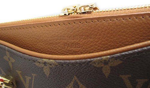 Bolsa Louis Vuitton Monogram Canvas Pallas Caramelo na internet