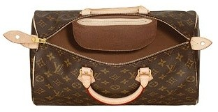 Bolsa Louis Vuitton Speedy Canvas Monogram Couro 30 - comprar online