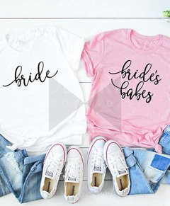 Remeras estampadas con frase personalizable